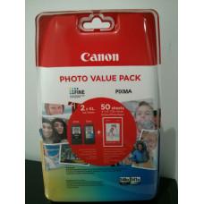 Cartouche Canon PG-540 XL / CL-541 XL Multipack - Pack de 2