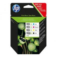 Cartouche HP 950XL/951XL pack de 4